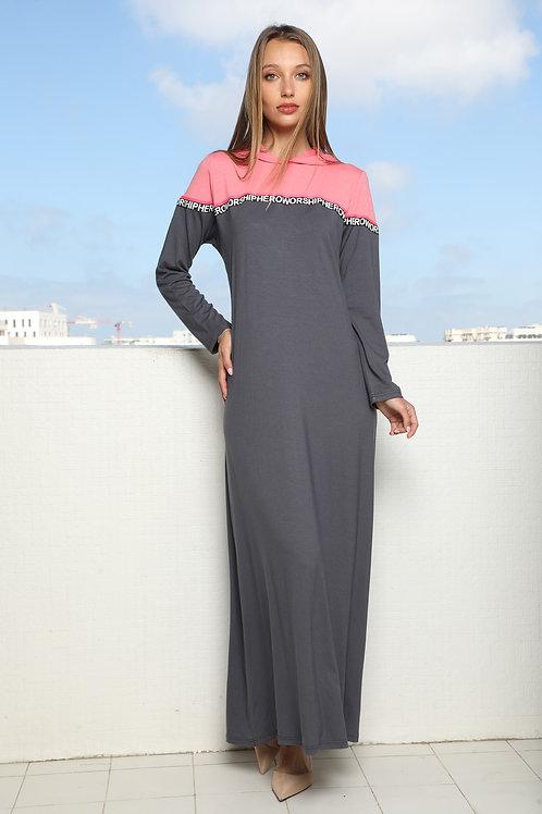 maxi modest  dress