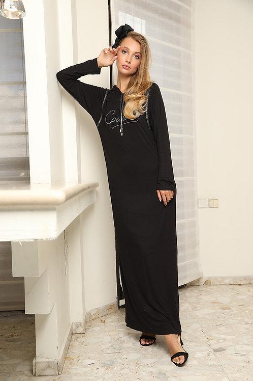 Nursing maxi modest dress