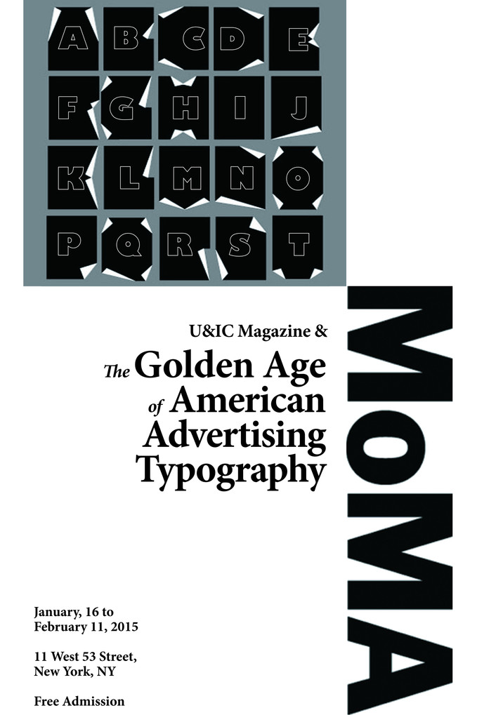 Poster for MOMA