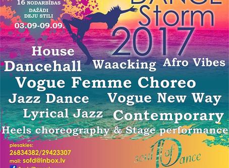 """""""Dance Storm 2017"""" tuvojas"""