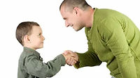 father-son-shaking-hands-260nw-23127700.