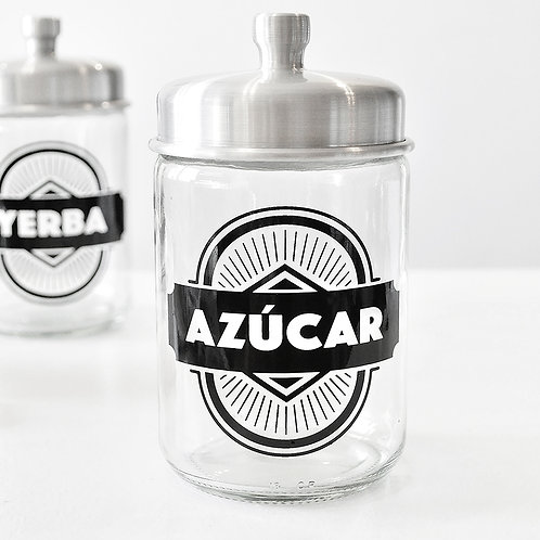 FRASCOS YERBA & AZÚCAR
