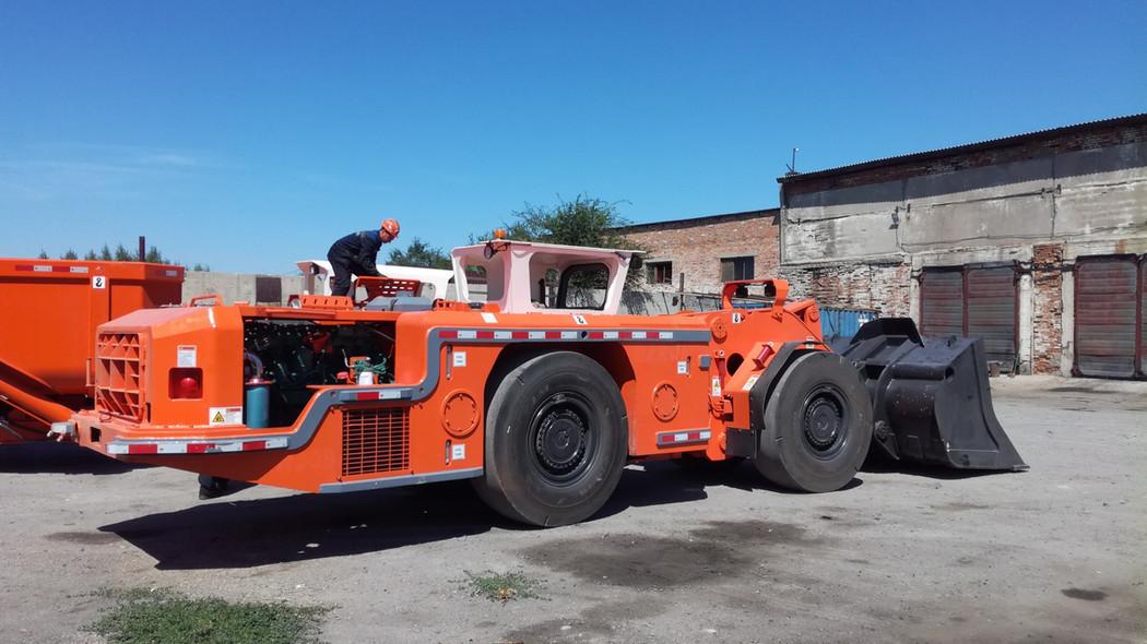 Погрузочно-доставочная машина ПДМ WJ-3B