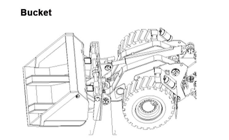 Ковш - схема монтажа