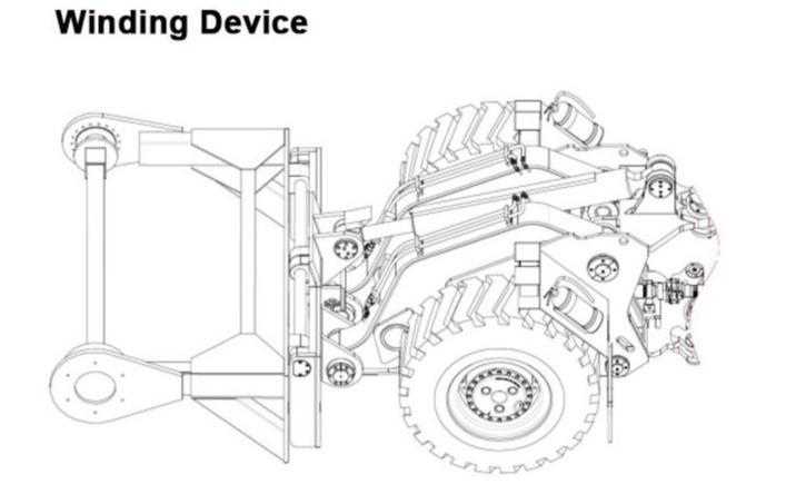 Кабеленамотчик -схема монтажа