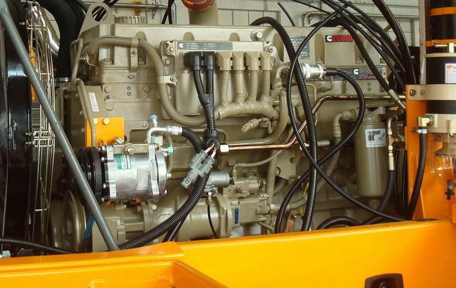 Двигатель Cummins Самосвал A300D