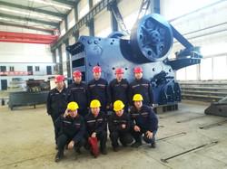 PEC160A, контрольная сборка и тест на заводе