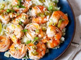 Jamaican Coconut Shrimp and Cauliflower Rice