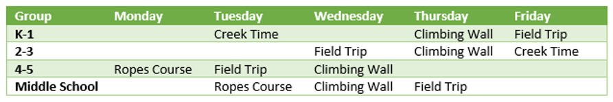 afternoon adventures weekly schedule.PNG