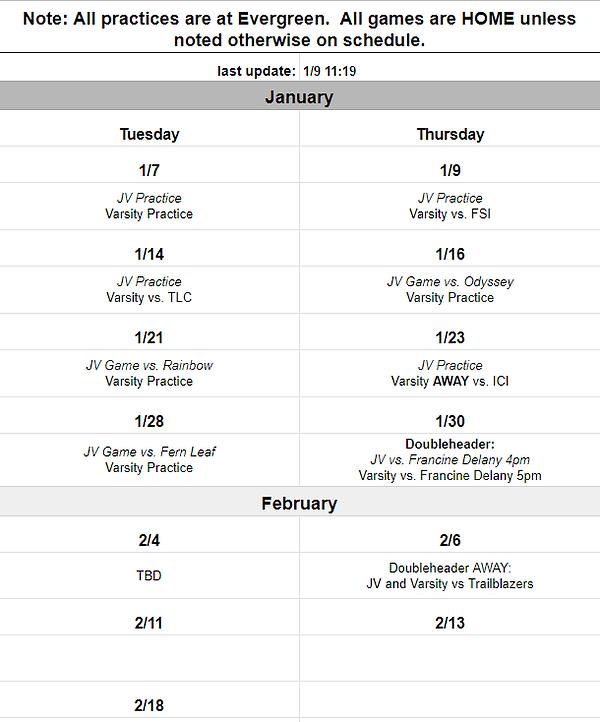 schedule update 1-9.PNG