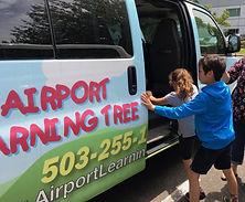 Airport Learning Tree Fun Van
