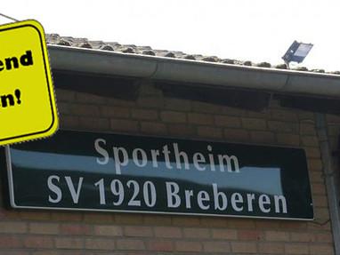 Sportheim bleibt geschlossen!