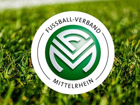 Mitteilung des Fußball-Verband Mittelrhein