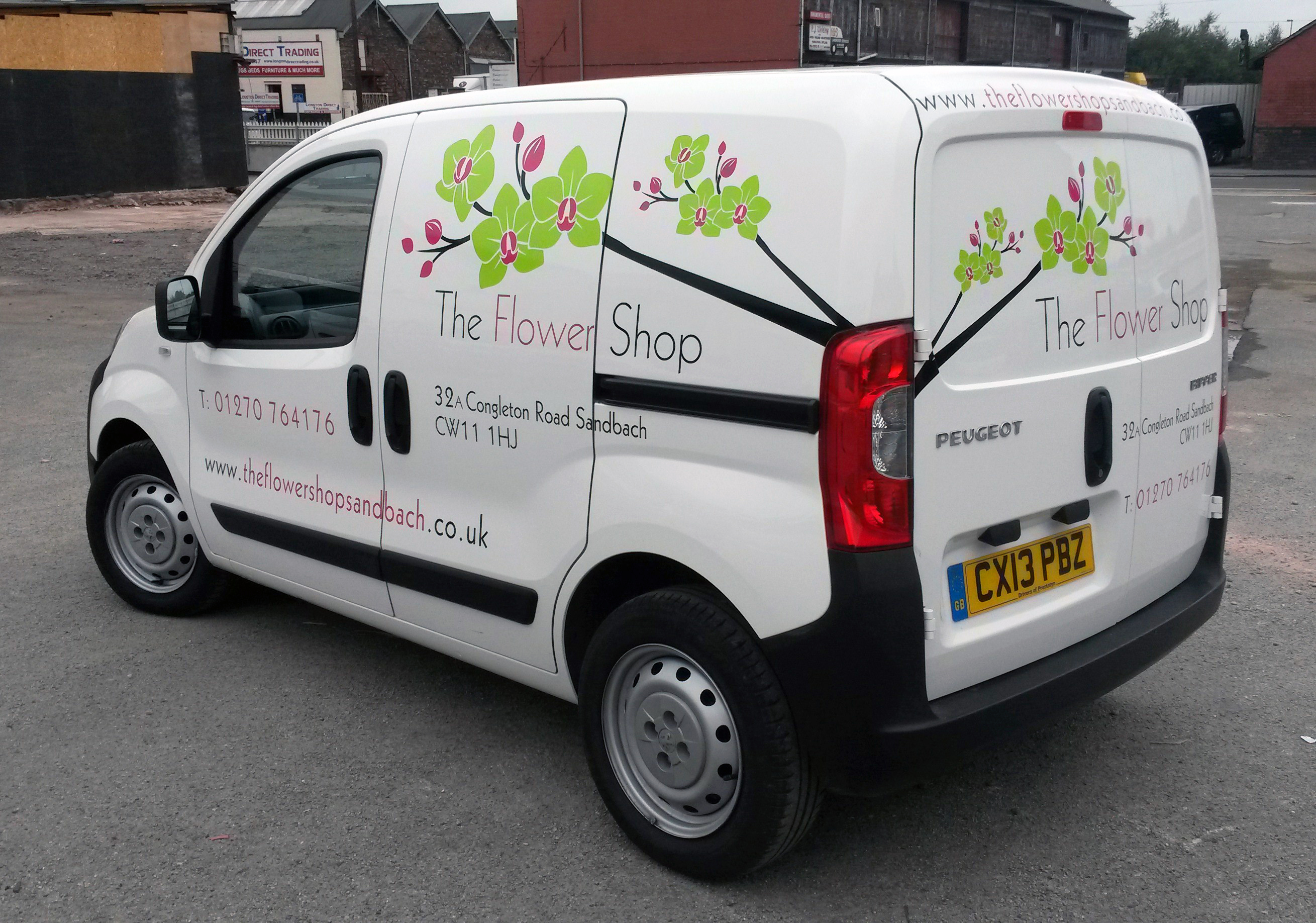 Standard Vehicle Sign Writing