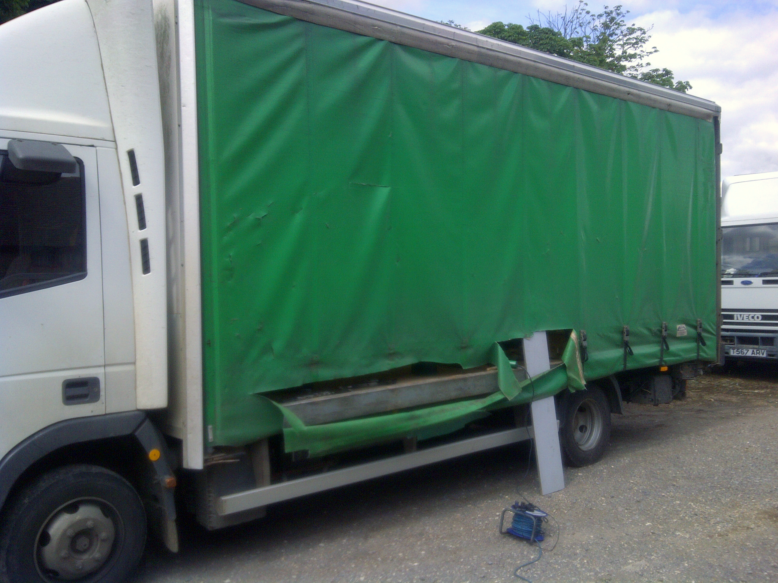 Curtainsider Rip Repair