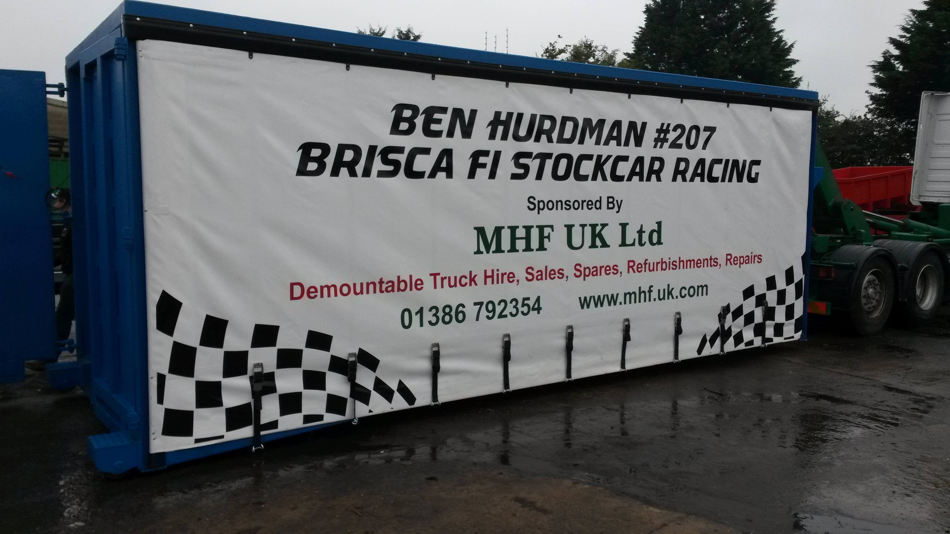 Detachable Curtainsider Box Livery