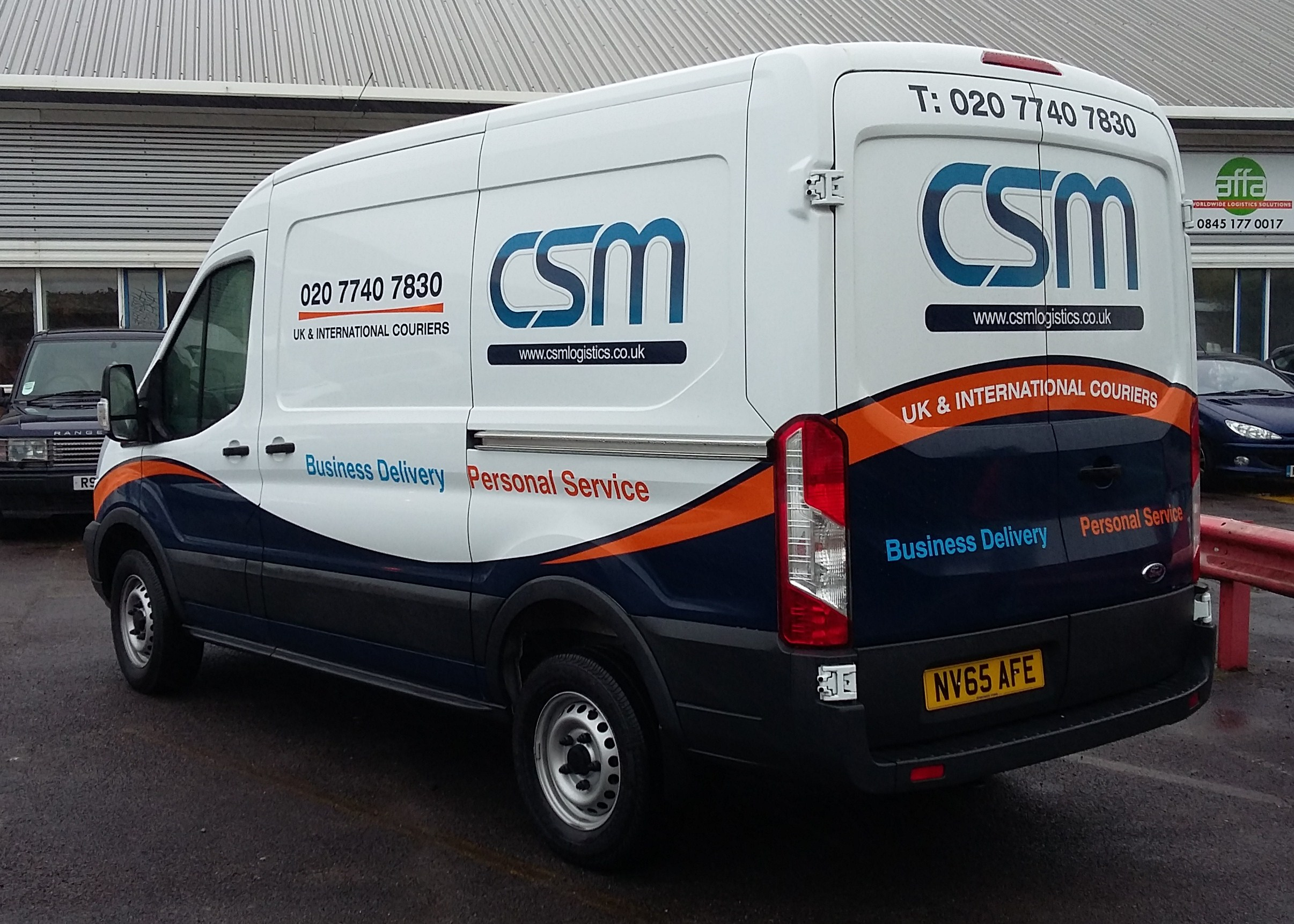 CSM Part Vehicle Wrap