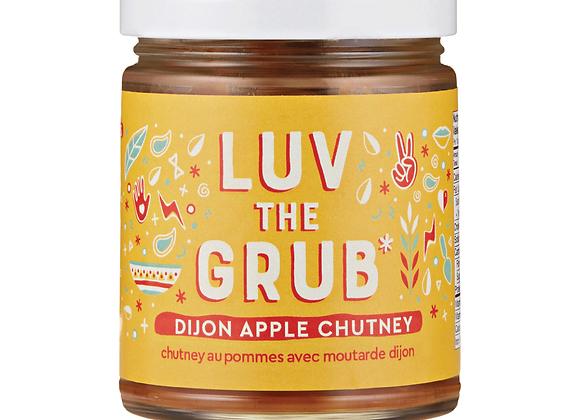 Dijon Apple Chutney | By Luv The Grub