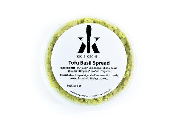 Tofu Basil Ricotta-Style Spread (Frozen) | By Kiki's Kitchen