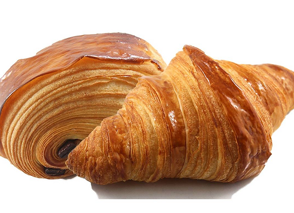 Fresh Baked Mix of Croissants (Box of 4) | By Steve's Gourmet Foods
