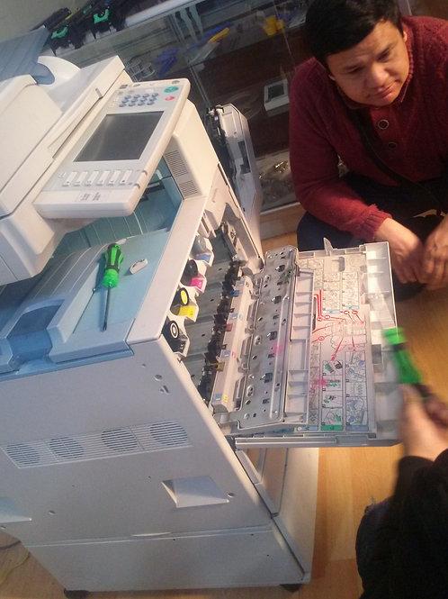 Curso Reparación de Fotocopiadoras