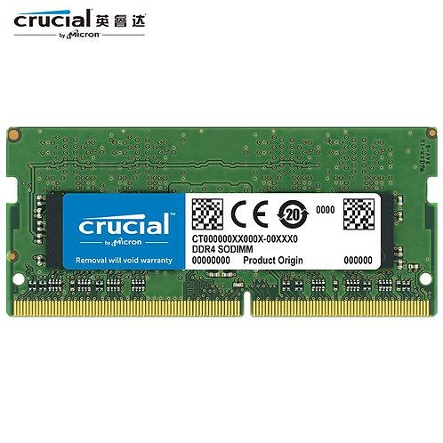 Memoria Ram Notebook Crucial 8GB 16GB DDR4 1.2V 260-Pin