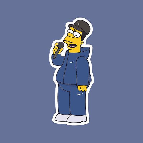 Grindah (PJDN) x Simpsons Sticker