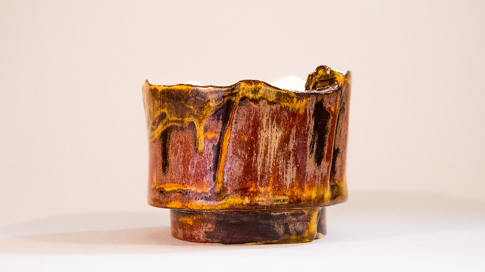 """Magma"" Candle Holder"