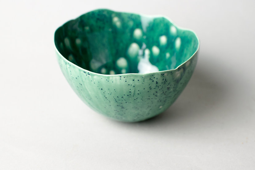 """Mossy"" Lotus Bowl (Mini)"