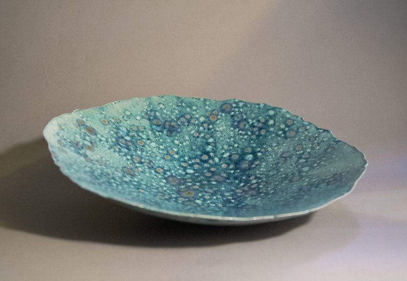 """Celestial"" Large/Wide Lotus Bowl"