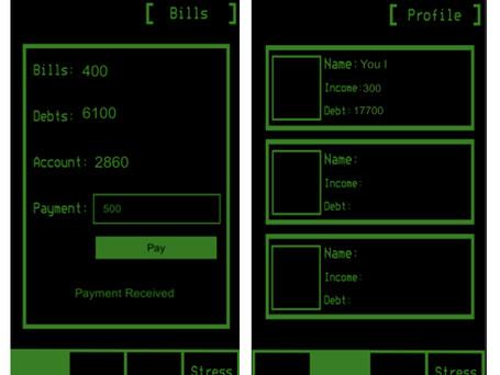 Bill and Profile Screens