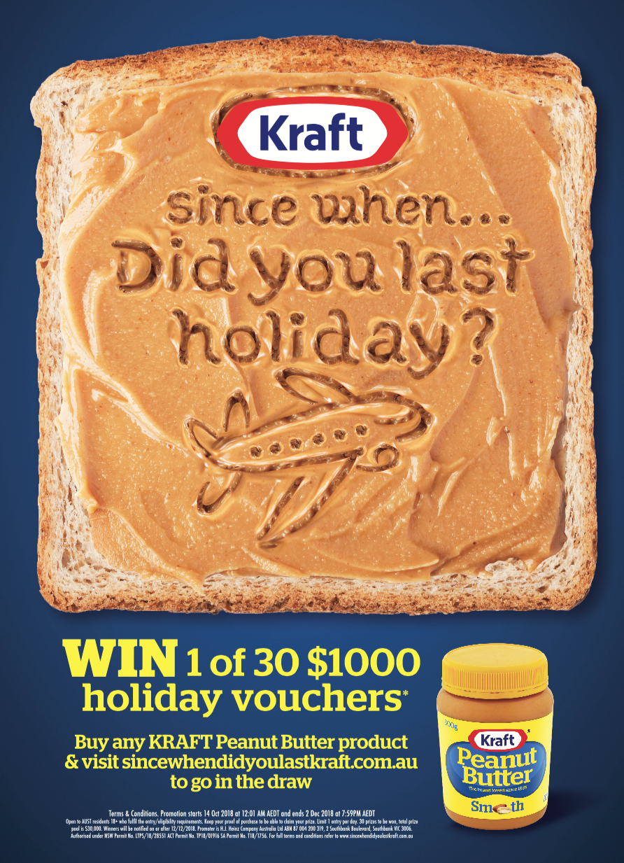 Kraft Peanut Butter Promotion