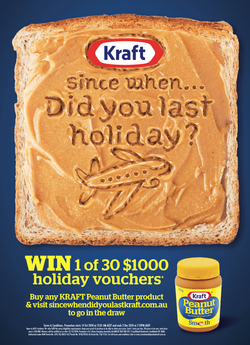 Kraft Peanut Butter Promotion