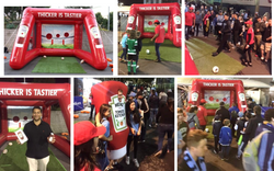 Heinz Activation at the footy