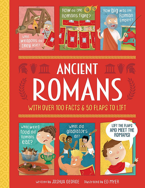 Ancient Romans (Lift-the-flap History) Book