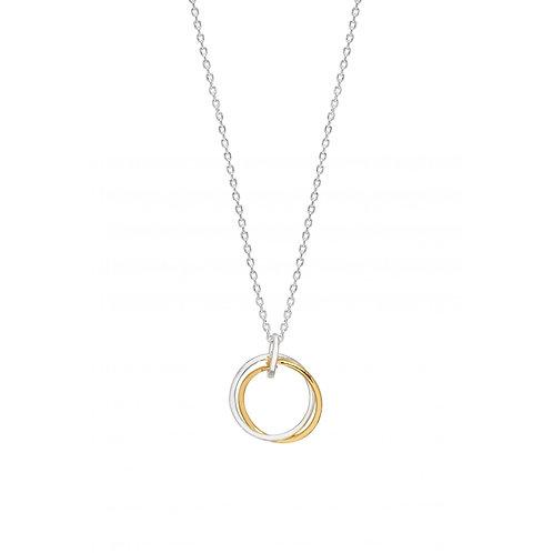 Estella Bartlett Interlinked Rings Necklace