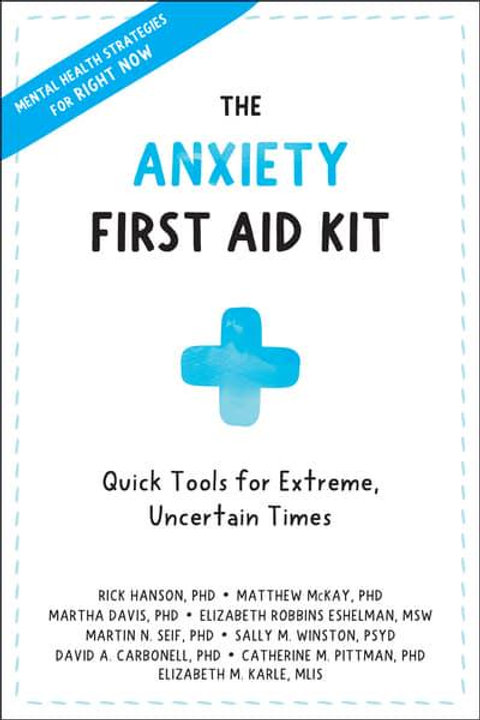 Anxiety First Aid Kit Book