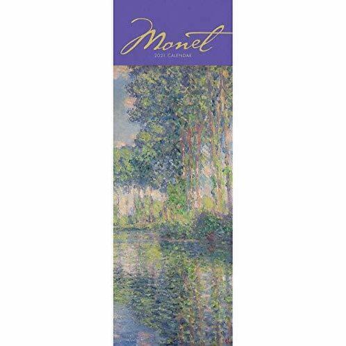 2021 Claude Monet Slim Calendar