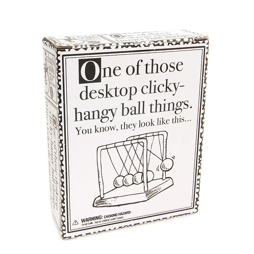 One Of Those Desktop Clicky Hangy Ball Things
