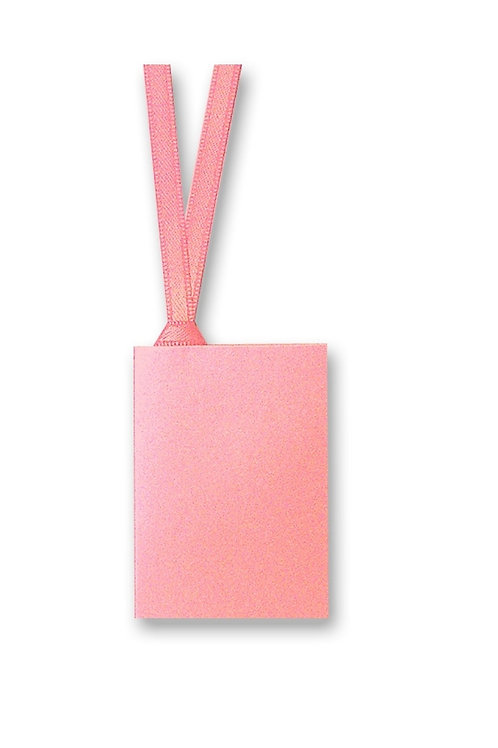 Soft Pink Square Gift Tag