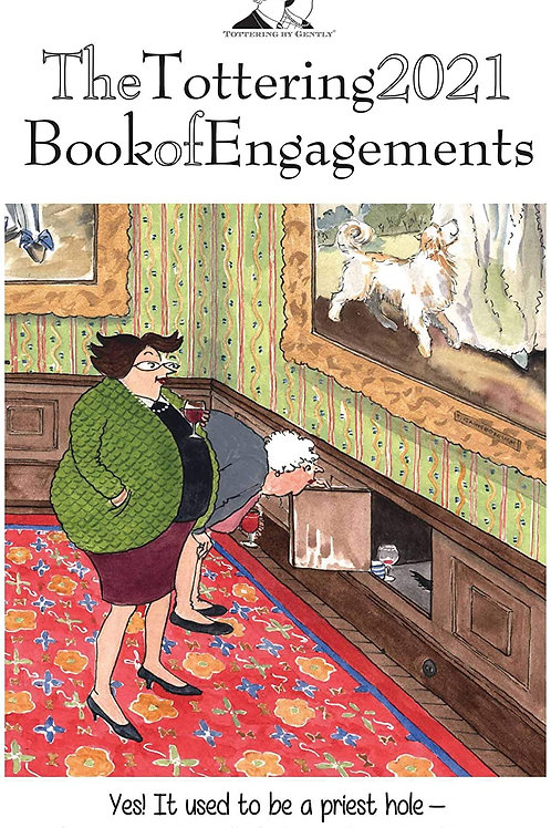 2021 The Tottering Book Of Engagements A5 Diary