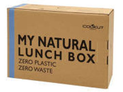 Natural Lunch Box With Belt