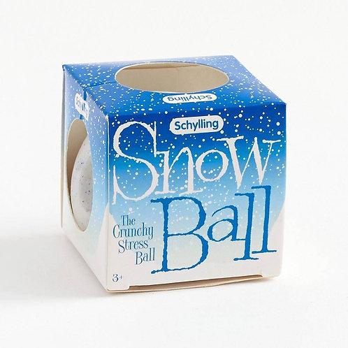 Snow Ball Crunchy Stress Ball