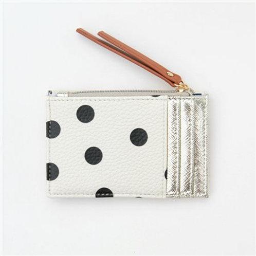 Caroline Gardener Card Holder Coin Purse Polka Dot