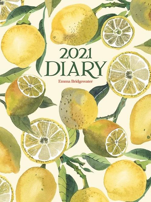 2021 Emma Bridgewater A5 Lemons Diary