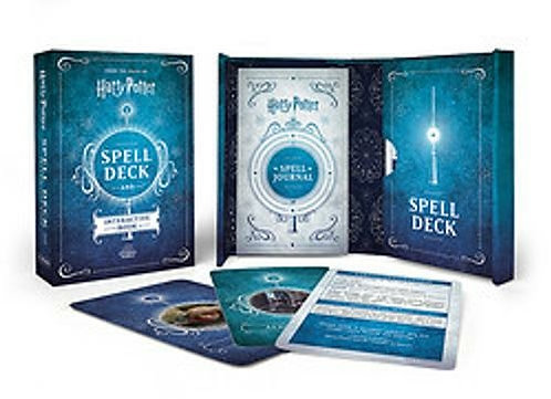 Harry Potter Spell Deck And Book