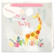 Baby Girl Giraffe Gift Bag