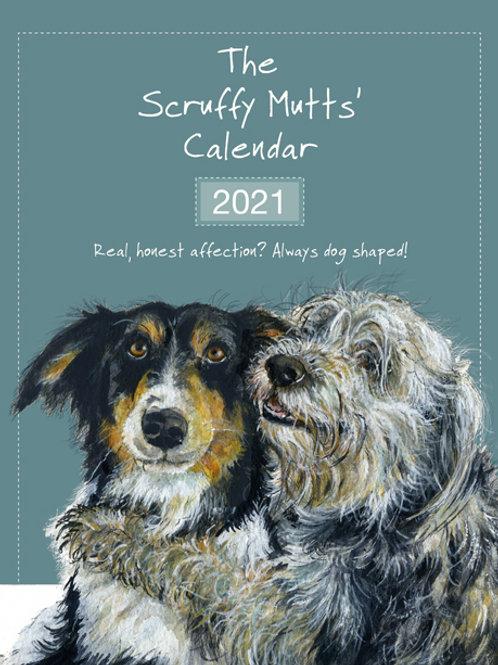 2021 Scruffy Mutts Calendar