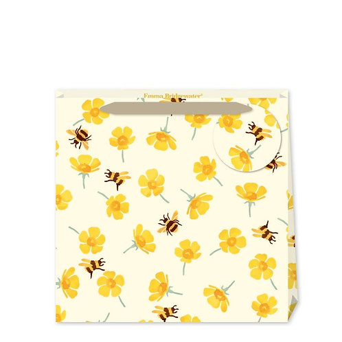 Emma Bridgewater Buttercup And Bees Medium Gift Bag
