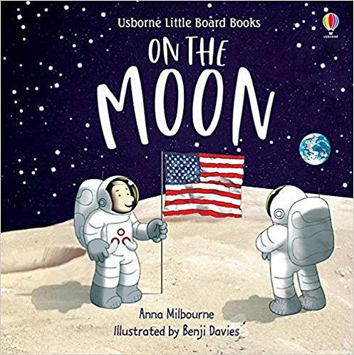 On the Moon Book (Usborne Little Board Books)